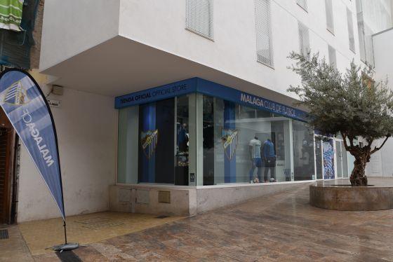 La tienda de Málaga CF